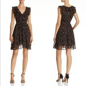 Rebecca Minkoff Brista Floral Ruffle Mini Dress
